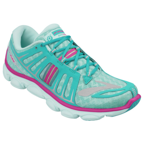 נעלי ברוקס לנוער Brooks Kids PureFlow 2 - טורקיז