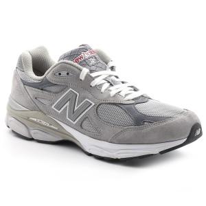 נעלי ניו באלאנס לגברים New Balance M990 - אפור