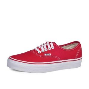 נעלי ואנס לנשים Vans Authentic - אדום