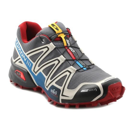 נעלי סלומון לגברים Salomon Speedcross 3 CS - אפור