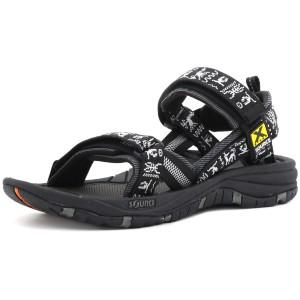 נעלי שורש לגברים Source Gobi - שחור