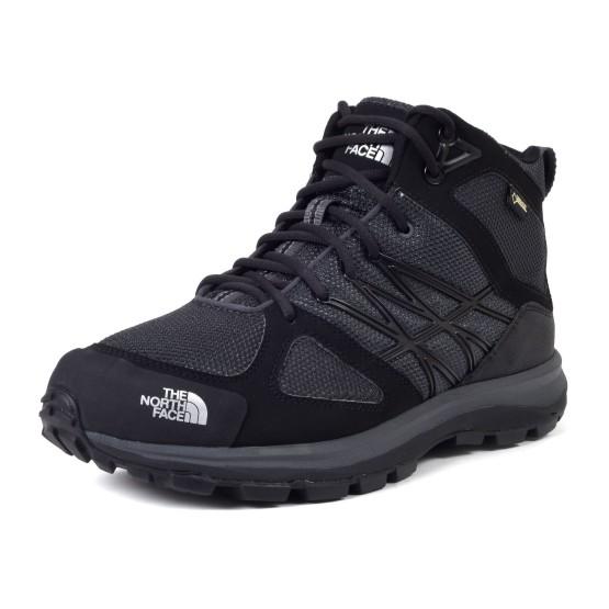 נעלי דה נורת פיס לגברים The North Face Litewave MID GTX - שחור