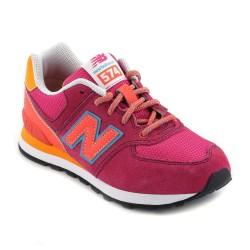 נעלי ניו באלאנס לנוער New Balance KL574 - כתום