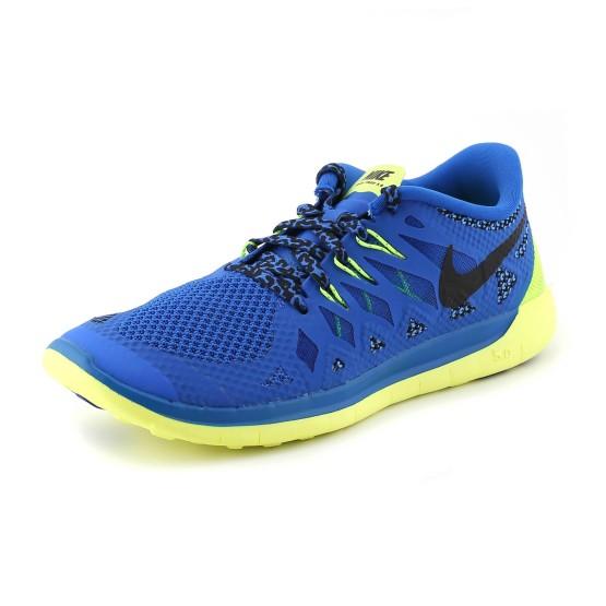 מוצרי נייק לנוער Nike  Free 5.0 GS - כחול