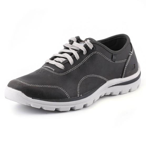 נעלי סקצ'רס לגברים Skechers Superior Harvin - אפור כהה