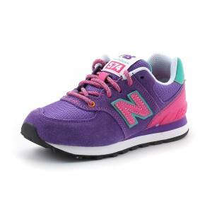 נעלי ניו באלאנס לנוער New Balance KL574 - סגול בהיר