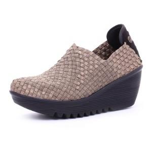 נעלי ברני מב לנשים Bernie Mev  Gem - ברונזה
