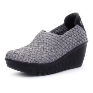 נעלי ברני מב לנשים Bernie Mev  Gem - אפור
