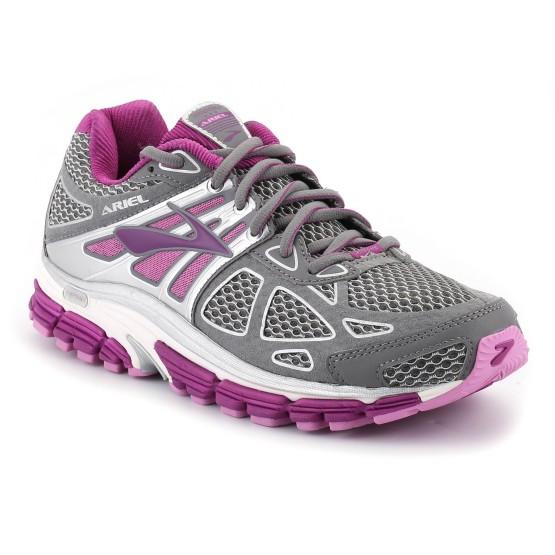נעלי ברוקס לנשים Brooks Ariel 14 - אפור