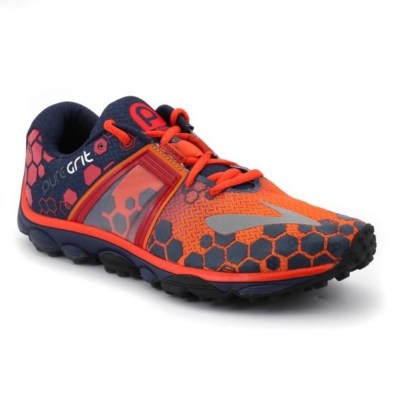 נעלי ברוקס לגברים Brooks PureGrit 4 - כתום