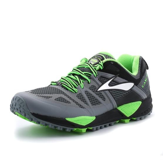 נעלי ברוקס לגברים Brooks Cascadia 10 - אפור