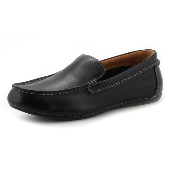 נעלי קלארקס לגברים Clarks  Marcos Flow - שחור