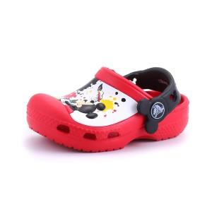 נעלי Crocs לפעוטות Crocs CC Mickey Paint Splatter Clog - אדום