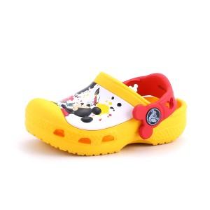 נעלי Crocs לפעוטות Crocs CC Mickey Paint Splatter Clog - צהוב