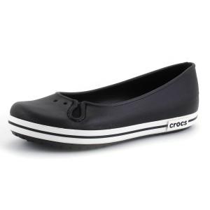 נעלי Crocs לנשים Crocs Crocband Flat - שחור