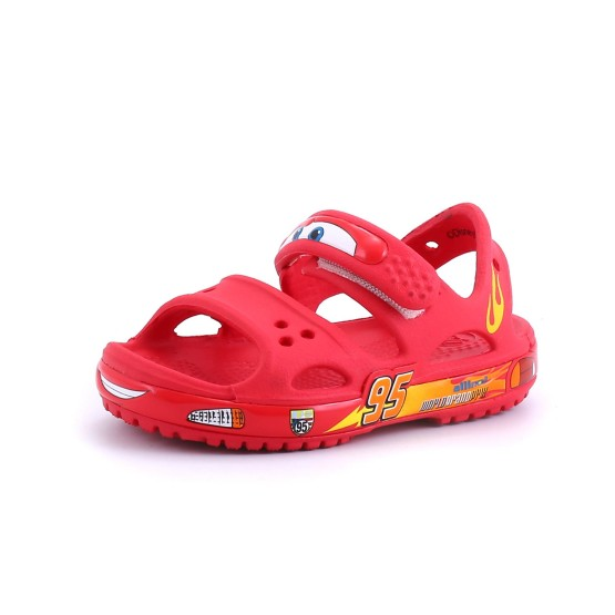 מוצרי Crocs לפעוטות Crocs  Crocband II Cars Sandal PS AS - אדום