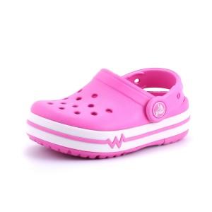 נעלי Crocs לפעוטות Crocs CrocsLights Clog PS - ורוד
