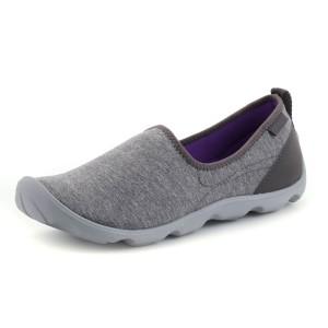 נעלי Crocs לנשים Crocs Duet Busy Day Heather Skimmer - אפור