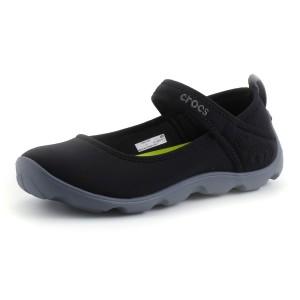 נעלי Crocs לנוער Crocs Duet Busy Day Mary Jane GS - שחור