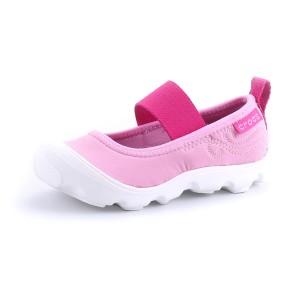 נעלי Crocs לפעוטות Crocs Duet Busy Day Mary Jane PS - ורוד
