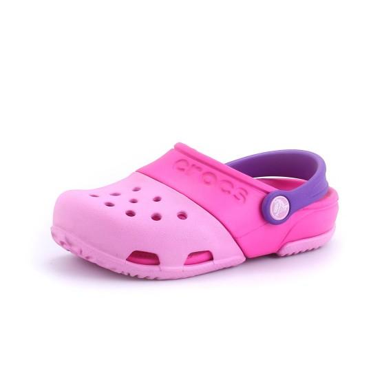 נעלי Crocs לפעוטות Crocs  Electro II Clog - ורוד