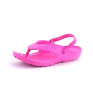 נעלי Crocs לילדות Crocs Hilo Flip K - ורוד