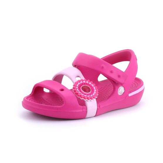 מוצרי Crocs לפעוטות Crocs Keeley Sandal Girls - ורוד