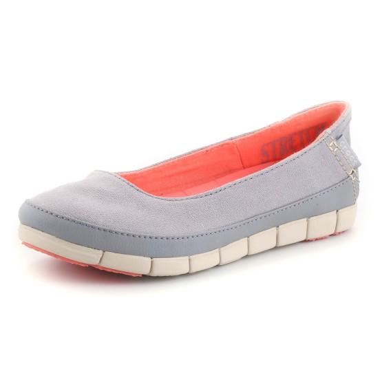 נעלי Crocs לנשים Crocs Stretch Sole Flat W - אפור בהיר