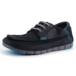 נעלי Crocs לגברים Crocs  Stretch Sole Lace up M  - שחור