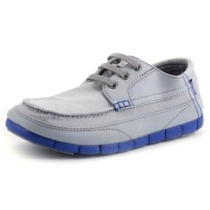 נעלי Crocs לגברים Crocs  Stretch Sole Lace up M  - אפור בהיר