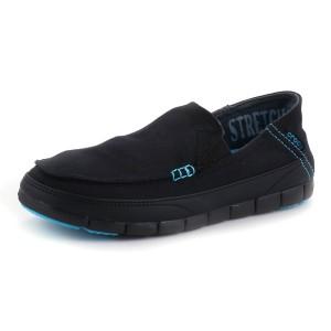 נעלי Crocs לגברים Crocs  Stretch Sole Loafer M - שחור