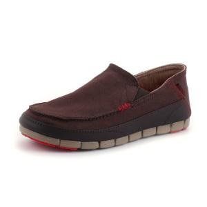 נעלי Crocs לגברים Crocs  Stretch Sole Loafer M - חום