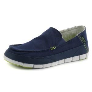 נעלי Crocs לגברים Crocs  Stretch Sole Loafer M - כחול