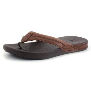 נעלי Crocs לגברים Crocs Yukon Flip - חום