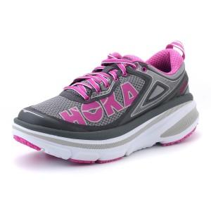 נעלי הוקה לנשים Hoka One One Bondi 4 - אפור