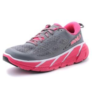 נעלי הוקה לנשים Hoka One One Clifton 2 - אפור