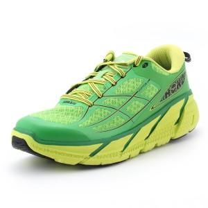 נעלי הוקה לגברים Hoka One One  Clifton 2 - ירוק
