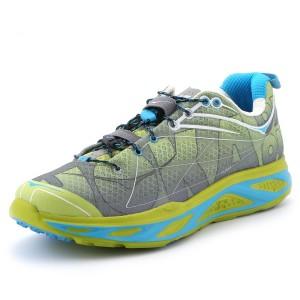 נעלי הוקה לגברים Hoka One One Huaka S - אפור/ירוק