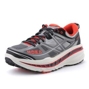 נעלי הוקה לגברים Hoka One One Stinson ATR - אפור