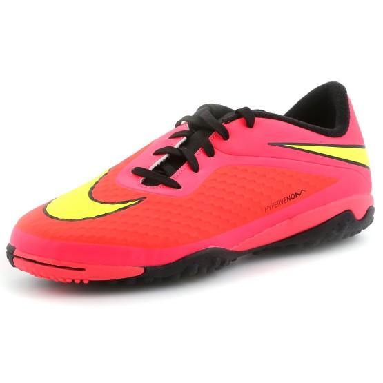נעלי נייק לנוער Nike JR Hypervenom Phelon TF - ורוד/כתום