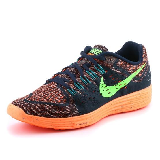נעלי נייק לגברים Nike Lunartempo - כחול/כתום
