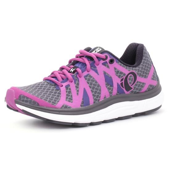 נעלי פרל איזומי לנשים Pearl Izumi EM Road H3 V2 - אפור/סגול