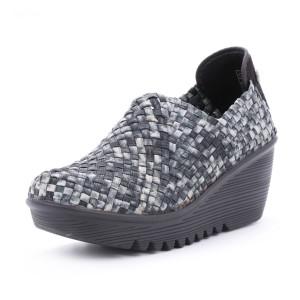 נעלי ברני מב לנשים Bernie Mev  Gem - שחור/לבן