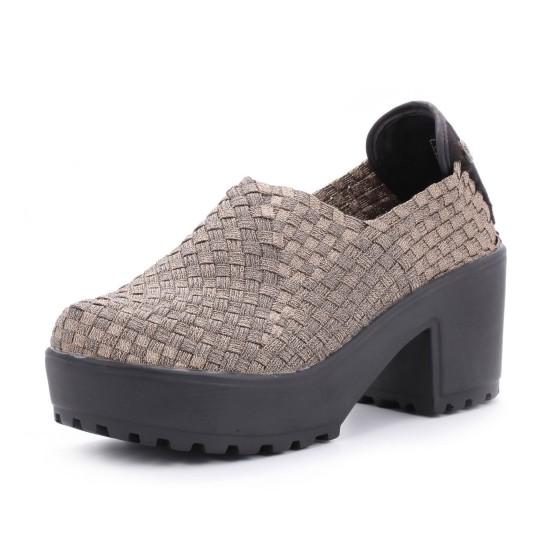 נעלי ברני מב לנשים Bernie Mev  Jerry - חאקי
