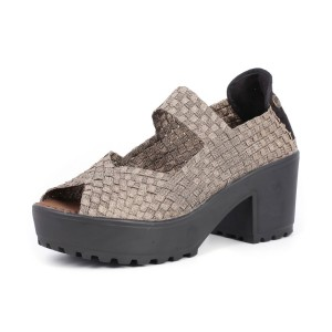 נעלי ברני מב לנשים Bernie Mev Jill - חאקי
