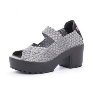 נעלי ברני מב לנשים Bernie Mev Jill - אפור