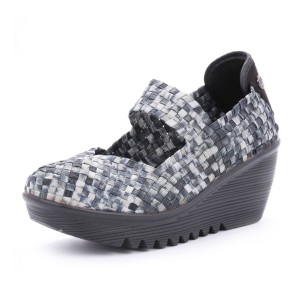 נעלי ברני מב לנשים Bernie Mev  Lulia - שחור/לבן