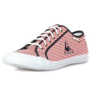 נעלי לה קוק ספורטיף לגברים Le Coq Sportif Deauville Stripes - אדום