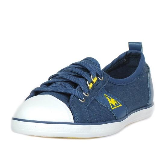 נעלי לה קוק ספורטיף לנשים Le Coq Sportif Lorette Metallic Jersey - כחול