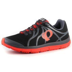 נעלי פרל איזומי לגברים Pearl Izumi EM Road N2 - שחור/אדום